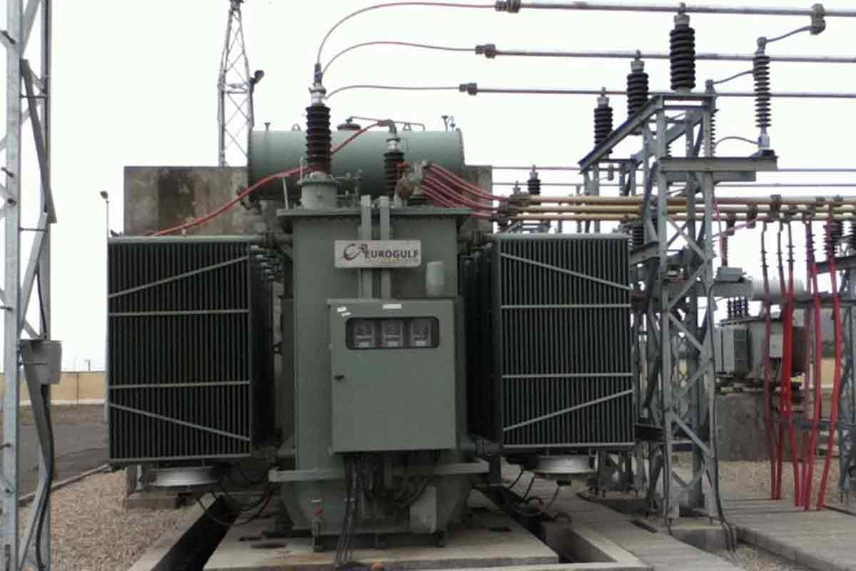 Substation at Hormozgan